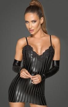 Noir Erotyczna mini sukienk...