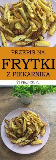 Domowe Frytki z Piekarnika