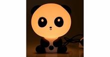 Nocna lampka Panda dla dzieci