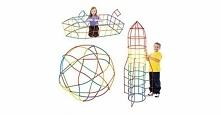 Słomki do budowania obiektów