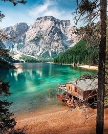Lago di Braies – jezioro we...