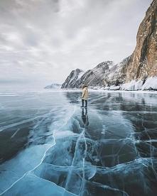 Jezioro Bajkał w Rosji ❄