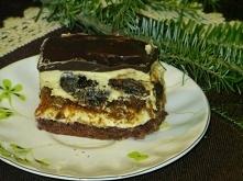 Ciasto Łącki przekładaniec