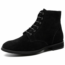 Are you looking for black men's shoes for autumn and winter? suede leath...