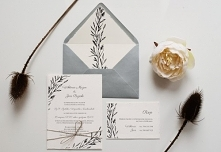 Zaproszeni ślubne na papier...