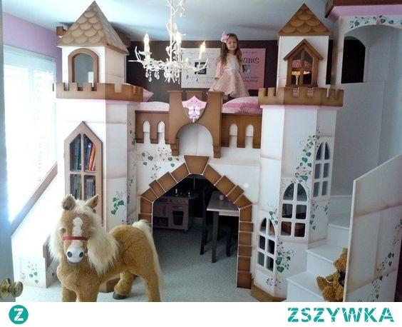 zamek w pokoju