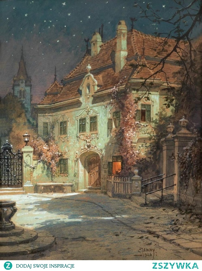 Georg Janny  Night in the summer, 1926