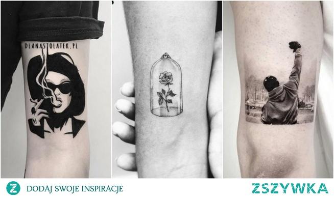 Najpiękniejsze tatuaże z motywami z filmów