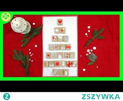 Jak zrobić Kalendarz Adwentowy na Święta (instrukcja DIY)