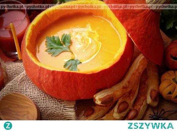 Zupa mleczna z dynią