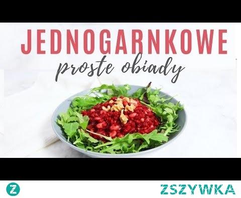 Jednogarnkowe OBIADY ZIMOWE   Proste i zdrowe przepisy wegańskie