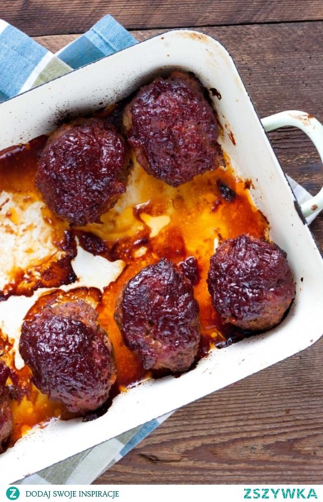 Klopsiki w pomidorowej glazurze