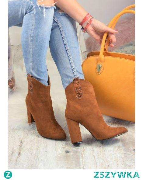 Botki na obcasie w kowbojskim stylu to ekstrawagancja na którą powinna pozwolić sobie każda kobieta. Sprawdź jak prezentuje się ten niesamowity fason butów!