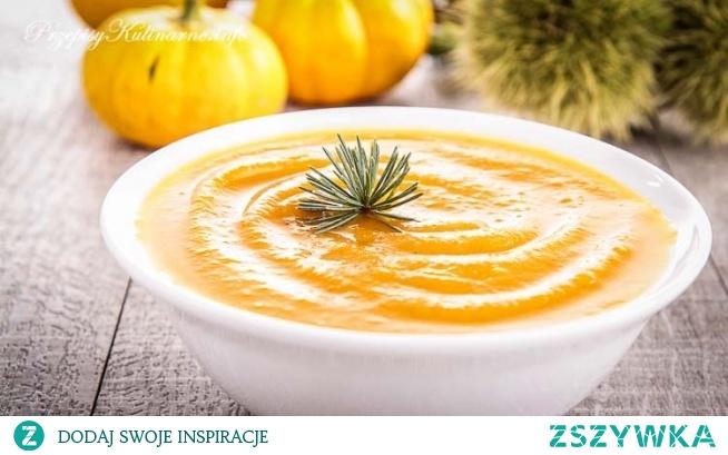 Krem z dyni na soku pomarańczowym