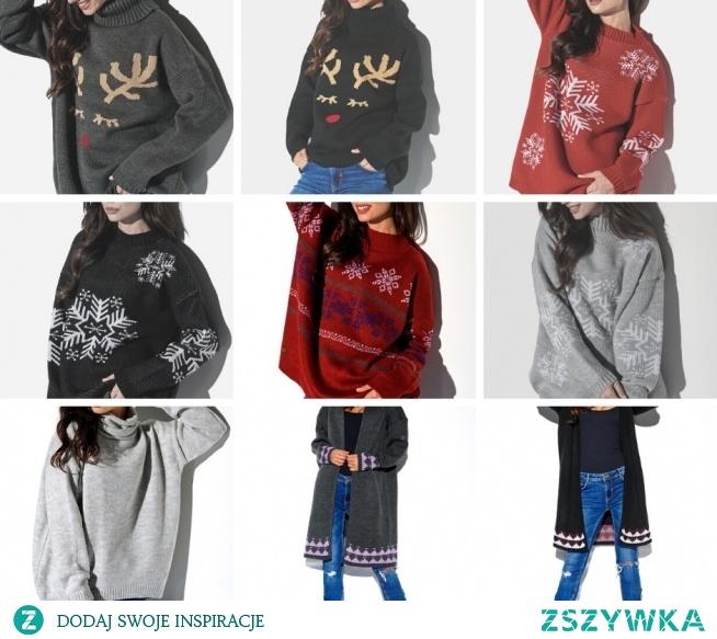 Świąteczne swetry w których poczujesz ciepło i magię nadchodzących Świąt :-) #bestfashionstore #moda #modadamska #sweter #swetry #święta #magiaświąt #fashion