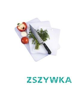 Profesjonalna kuchnia bez deski do krojenia nie może istnieć! Jeśli jedna to dla Ciebie za mało a jeśli dużo gotujesz, z pewnością tak jest, kup więcej z naszego katalogu!