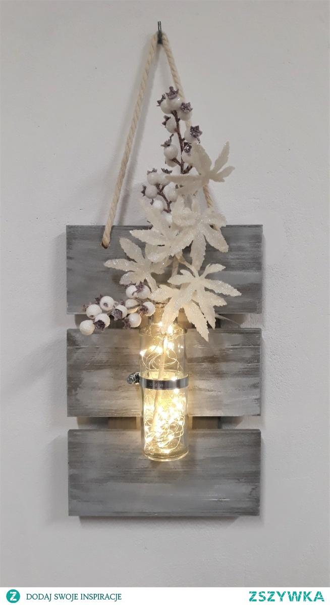 Wiszący wazon, wspaniała dekoracja. Zapraszam na pieknerzeczy.com.pl