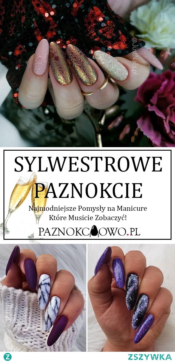 Sylwestrowy Manicure – Najmodniejsze Pomysły na Paznokcie Które Musicie Zobaczyć!