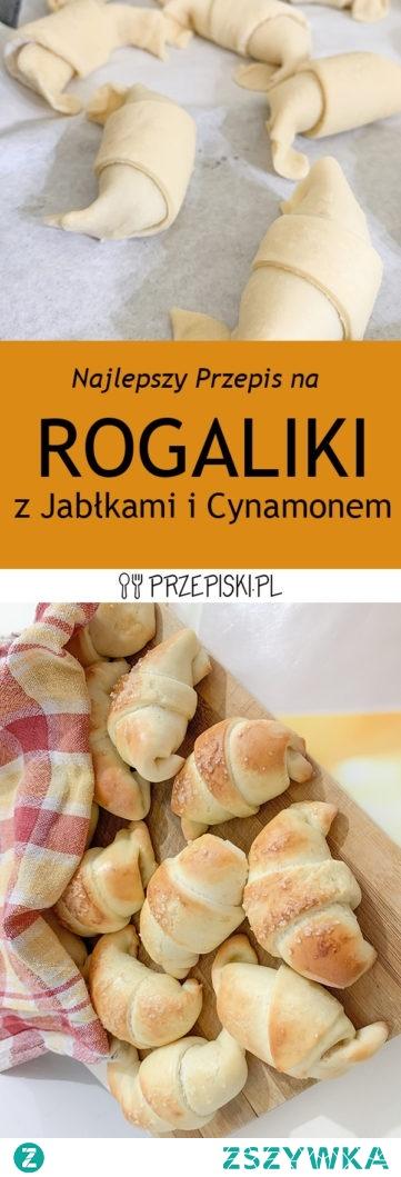 Przepis na Rogaliki z Jabłkami i Cynamonem
