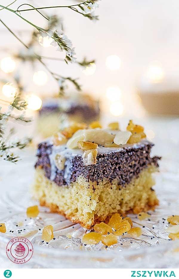 Prosty makowiec - Najlepsze przepisy | Blog kulinarny - Wypieki Beaty