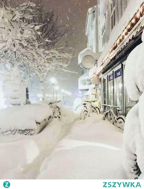 Cudownie biało :)