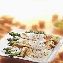 Tortille ze szparagami i indykiem