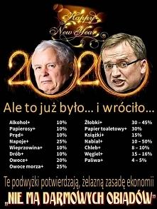 Kaczyński i spółka dziękują...
