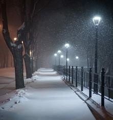 Skrzypienie śniegu , kryszt...