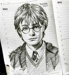 Rysunek - coś dla fanów Harrego Potter'a :)
