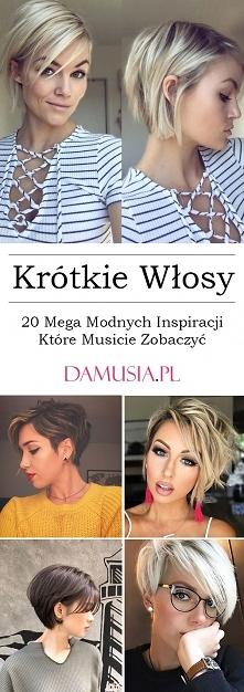 Krótkie Włosy – TOP 20 Mega...