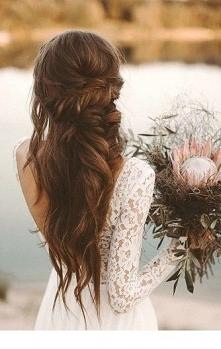 plecionka długie włosy