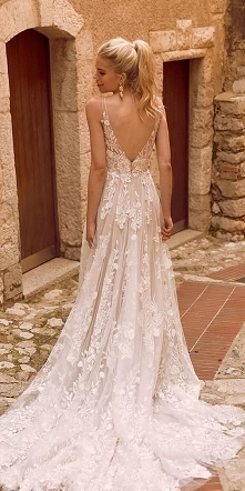 suknia ślubna  tiul, koronka