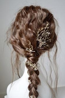 Ozdobne spinki do włosów z ...