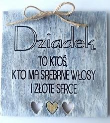 Drewniana kartka na DZIEŃ D...