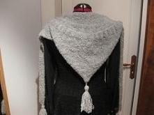 tuto echarpe capuche tricot