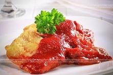 Okoń w pomidorowym sosie