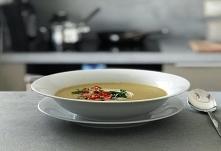 Przepis na zupę krem z ziem...