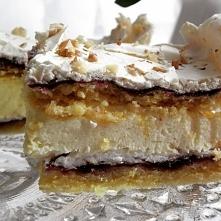 Pani Walewska Eleganckie, kremiate, delikatne, pyszne - ciasto idealne na rod...