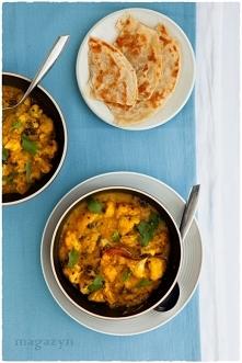 Curry z kalafiorem i soczewicą