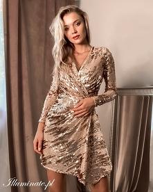 Cekinowa sukienka z kolekcj...
