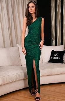 ROCO Elegancka zielona suki...