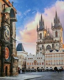Puzzle podróże, kierunek Praga, Czechy