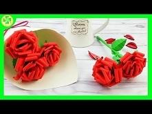Jak zrobić Róże z Papieru (...