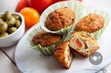 Muffinki z suszonymi pomido...