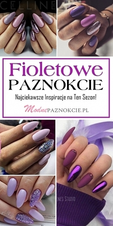 Fioletowe Paznokcie – Najci...