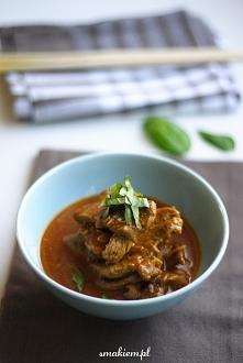 Tajskie curry z wieprzowiny...