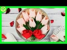 Jak zrobić: Róże z lizaków ...