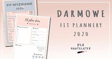 Darmowe FIT plannery 2020