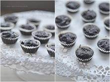 Mini muffinki z czekoladą, ...