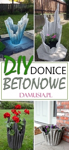 DIY Donice Betonowe – TOP 1...